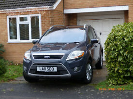 Ford Kuga Titanium TDCI 163 2011 Top Spec, Auto, Full Leather, Satnav, Roof Bars, Panoramic Roof