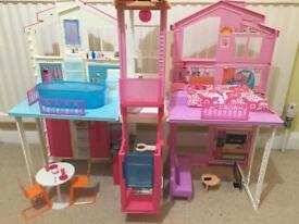 Barbie 3 story town house