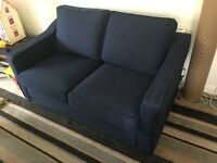 Collinwood Batchelor sofa bed with spare cover