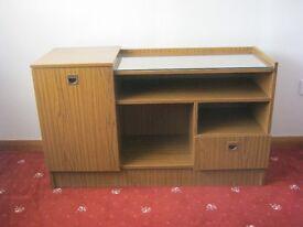 Wood Effect Storage Unit
