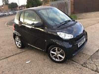 2010 Smart Fortwo Coupe 1.0 MHD Pulse Softouch Automatic Low Mileage Smooth Car Long MOT £0 Road Tax