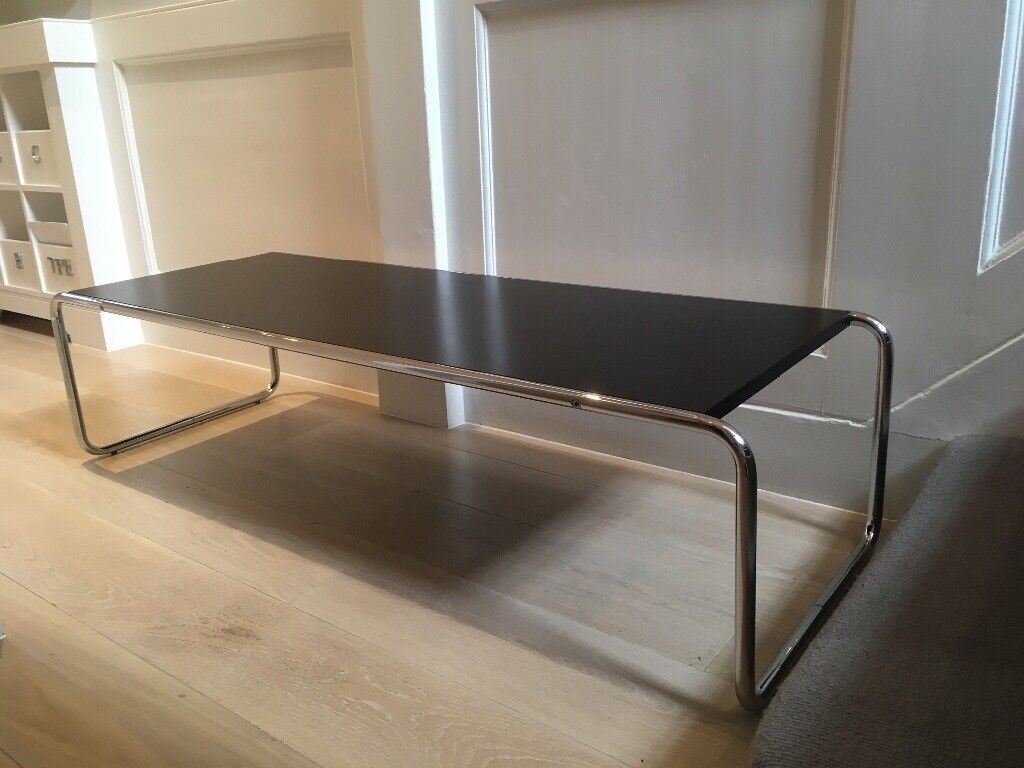 Marcel Breuer coffee table and 2 side tables