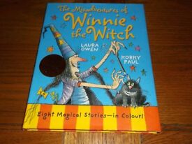 The Misadventures of Winnie the Witch book, excellent condition