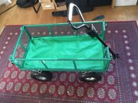 Garden Trolley / 350kg Load Capacity / All-Terrain Ideal for Camping & Festivals