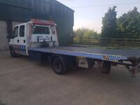 2003 IVECO-FORD DAILY (S2000) 7 SEATER RECOVERYTRUCK (TILT AND SLIDE)