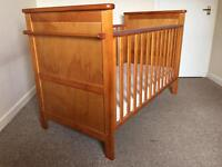 Cosatto Luca cot bed and mattress