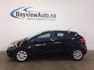 2014 Kia RIO LX- 6 SPEED! A/C! HEATED SEATS! BLUETOOTH! CRUISE!