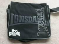 Lonsdale satchel bag - ideal for school/work