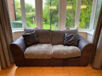 Large sofa bed, immaculate condition, small double bed. (Sofabed)