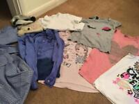 Mixed bundle of girls clothes ages 9-11
