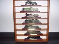 Collectors set of 36 Steam Railway Engines