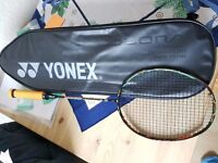 Yonex Duora 10 racket / racquet with cover, in very good condition for sale £90 ono
