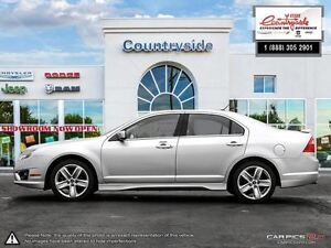 2010 Ford Fusion Sport *AWD, SPORT, V6, LEATHER* Windsor Region Ontario image 3