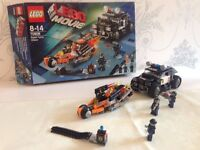 LEGO Movie Super Cycle Chase Set 70808 (used still with box is complete)