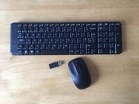 Logitech Wireless Keyboard & Mouse £10