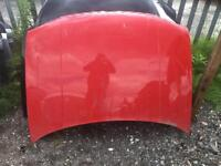 Vw golf 2003 Bonnet red