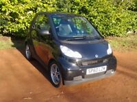 Smart Fortwo passion diesel cdi auto coupe road tax nil 85mpg Service History