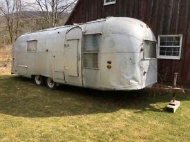 Airstream overlander 1964 travel trailer iconic american original classic vehicle