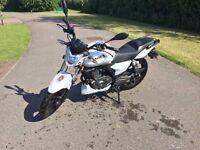 KSR MOTO WORX 125 (LOW MILEAGE) £900 ONO