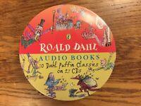Roald Dahl Audio Books - 10 Dahl Puffin Classics on 27 CDs