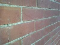 About 1,000 reclaimed red bricks.