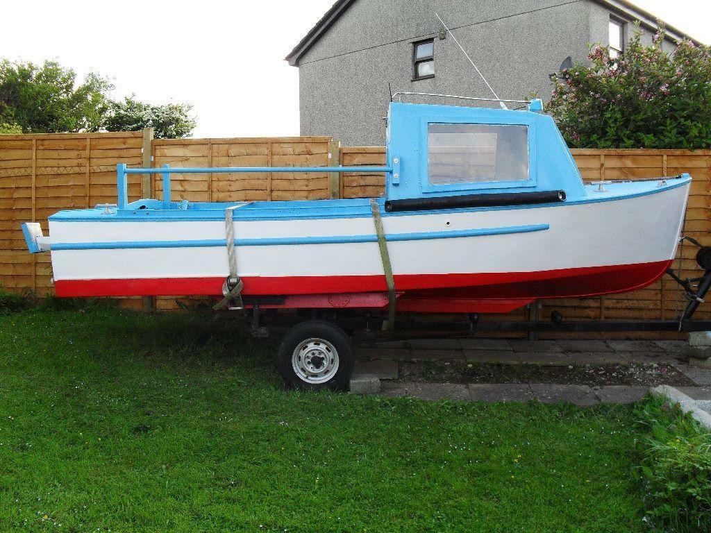 17ft fishing boat in chacewater cornwall gumtree. Black Bedroom Furniture Sets. Home Design Ideas