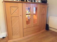 Large sideboard display cabinet