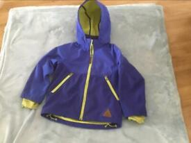 Lovely boys blue hooded jacket 6-7 years £3