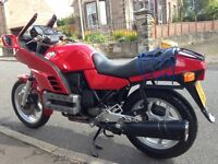 BMW K100RS (8 valve model) first reg 1985 with long MoT and recent upgrade