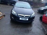 VAUXHALL ASTRA J 1.7 CDTI 2012 BREAKING FOR SPARES TEL 07814971951 HAVE FEW IN STOCK