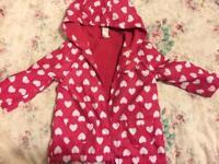 Lightweight 12-18 months girls jacket.