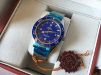 New Swiss Omega Seamaster Master Coaxial Automatic Watch