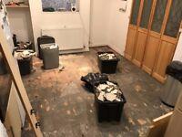Broken Kitchen Floor Tiles for FREE