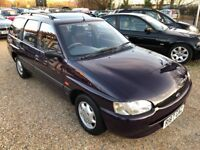 1997 FORD ESCORT CL 1.6 ESTATE BLUE RARE CAR WITH VERY LOW MILEAGE
