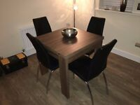 Dining Table with 4 Chairs - from Next