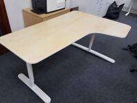 IKEA Bekant Corner Desk x2