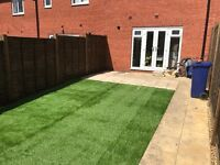 Fencing, flagging, Indian paving, turfing, artificial turf, landscaping, rubbish removal, gardening