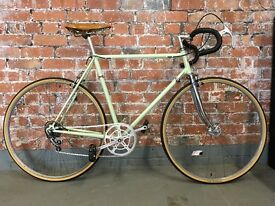 Carlton Supersport 59cm steel frame bicycle restored with Campagnolo