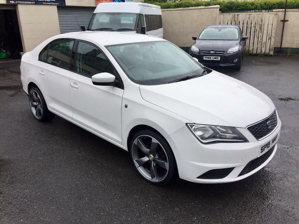 Mot Centre Newry >> SEAT TOLEDO 1.6 TDI, 2015, TTRS ALLOYS, WHITE **FINANCE THIS FROM AS LITTLE AS £45 PER WEEK ...