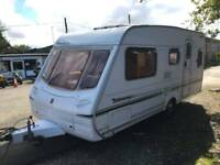 2004 ABBEY ALLIANCE SL 5 BERTH TOURING CARAVAN NO DAMP