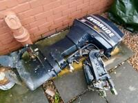 Evinrude 60hp Breaking for Spares