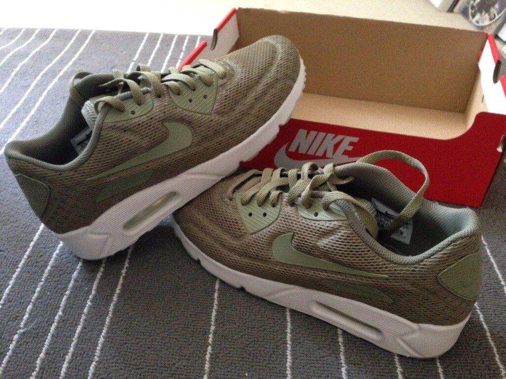 b5d48d0ba519 Nike Air Max 90 Ultra Breathe 2.0 - Green Khaki - UK 7.5