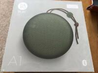 Bang & Olufsen, BeoPlay A1 Bluetooth Speaker in Moss Green. Brand New, Unopened.