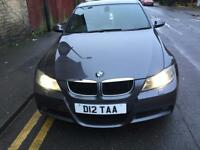 Bmw 320d Auto, grey, heated leather seats and built in tv screen