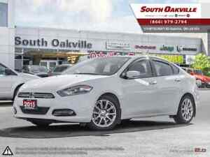 2015 Dodge Dart Limited | HEATED LEATHER | NAVIGATION | SUNROOF