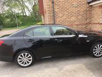 Beautiful shiny black Lexus is220d