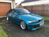 E46 BMW 330d Individual M-Sport - Atlantis Blue (320d, 530d, A4, Passat, Golf, Leon, Civic, X5, M3)
