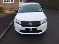 Dacia Sandero 1.2 16V Ambiance 5dr Manual Petrol White For Sale. Low Mileage, Great Condition.