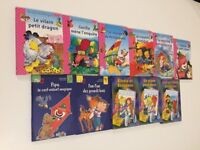 VARIOUS FRENCH BOOKS FOR KIDS