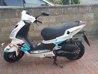 2015 Peugeot Speedfight 3 125cc Team